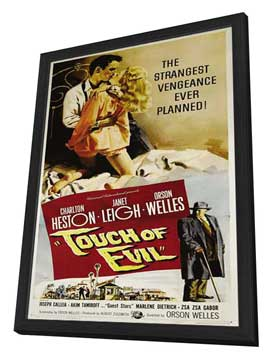 Touch of Evil - 27 x 40 Movie Poster - Style B - in Deluxe Wood Frame