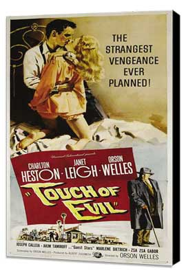 Touch of Evil - 27 x 40 Movie Poster - Style B - Museum Wrapped Canvas