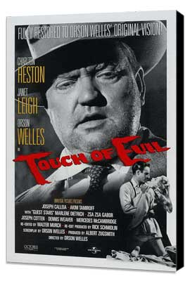 Touch of Evil - 27 x 40 Movie Poster - Style C - Museum Wrapped Canvas