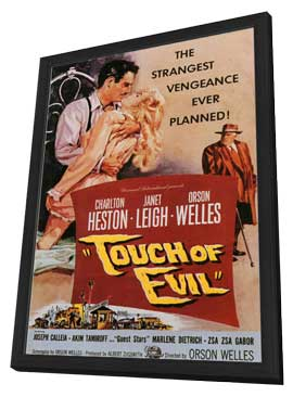 Touch of Evil - 11 x 17 Movie Poster - Style B - in Deluxe Wood Frame