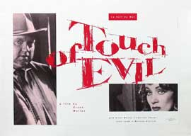 Touch of Evil - 27 x 40 Movie Poster - Belgian Style A