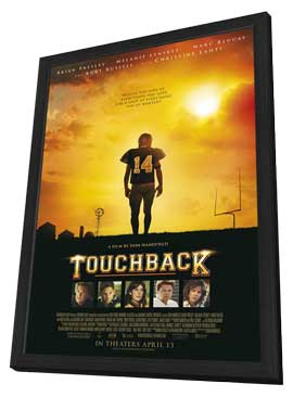 Touchback - 27 x 40 Movie Poster - Style A - in Deluxe Wood Frame