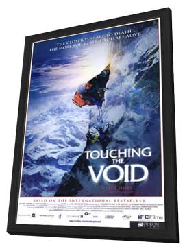 Touching the Void - 11 x 17 Movie Poster - Style A - in Deluxe Wood Frame