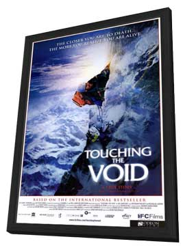Touching the Void - 27 x 40 Movie Poster - Style A - in Deluxe Wood Frame
