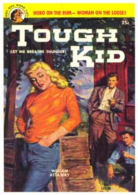 Tough Kid - 11 x 17 Retro Book Cover Poster