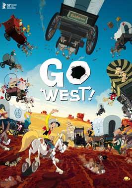 Tous a l'Ouest: Une aventure de Lucky Luke - 11 x 17 Movie Poster - Style A