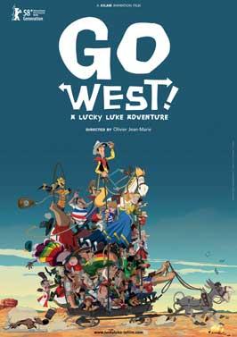 Tous a l'Ouest: Une aventure de Lucky Luke - 27 x 40 Movie Poster - Style B