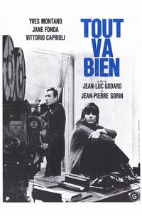 Tout va bien - 11 x 17 Movie Poster - French Style A