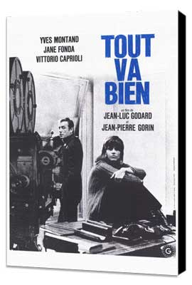 Tout va bien - 27 x 40 Movie Poster - French Style A - Museum Wrapped Canvas