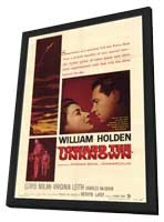Toward the Unknown - 11 x 17 Movie Poster - Style B - in Deluxe Wood Frame
