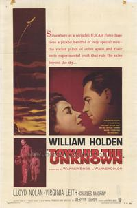 Toward the Unknown - 27 x 40 Movie Poster - Style B
