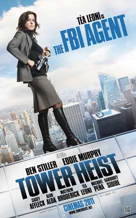 Tower Heist - 11 x 17 Movie Poster - Style E