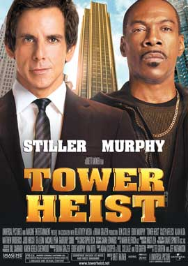 Tower Heist - 27 x 40 Movie Poster - Style B