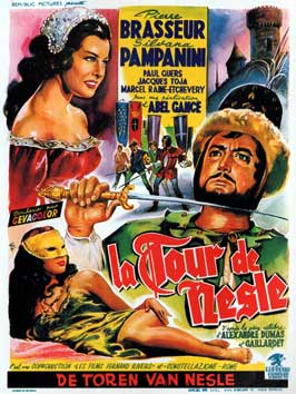 Tower of Nesle - 11 x 17 Movie Poster - Belgian Style A