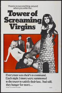 Tower of Screaming Virgins - 27 x 40 Movie Poster - Style A