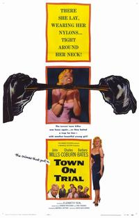 Town on Trial - 11 x 17 Movie Poster - Style A