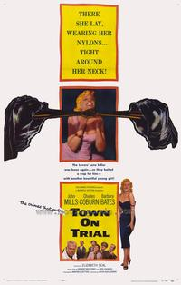 Town on Trial - 27 x 40 Movie Poster - Style A