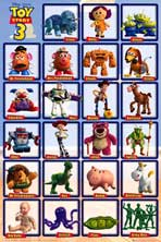 Toy Story 3 - Movie Poster - Reproduction - 24 x 36 - Style A