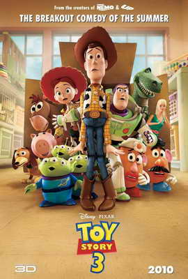 Toy Story 3 - 27 x 40 Movie Poster - Style P