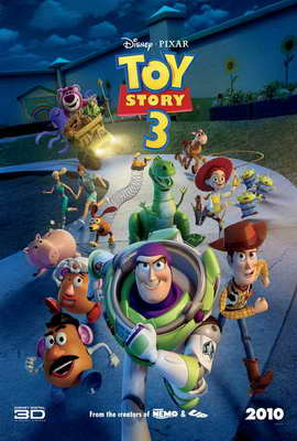 Toy Story 3 - 27 x 40 Movie Poster - Style Q