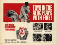 Toys in the Attic - 22 x 28 Movie Poster - Half Sheet Style A