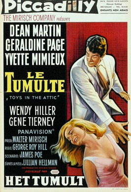 Toys in the Attic - 11 x 17 Movie Poster - Belgian Style A