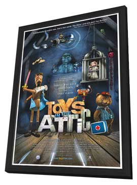 Toys in the Attic - 11 x 17 Movie Poster - Style A - in Deluxe Wood Frame