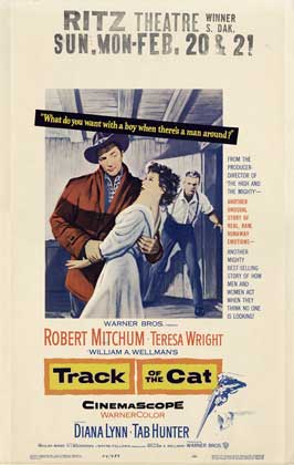 Track Of The Cat - 27 x 40 Movie Poster - Style B