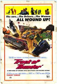 Track of Thunder - 27 x 40 Movie Poster - Spanish Style A