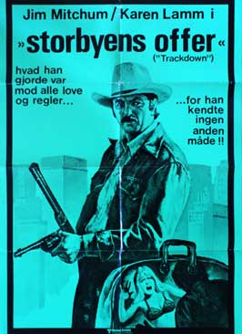 Trackdown - 11 x 17 Movie Poster - Danish Style A