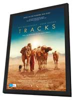 Tracks - 11 x 17 Movie Poster - Australian Style A - in Deluxe Wood Frame