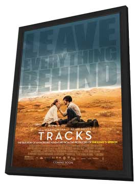 Tracks - 27 x 40 Movie Poster - Style A - in Deluxe Wood Frame
