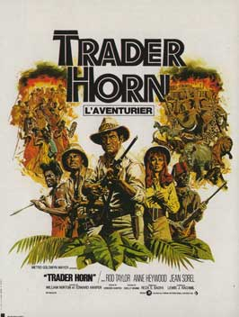Trader Horn - 11 x 17 Movie Poster - French Style A