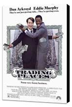 Trading Places - 27 x 40 Movie Poster - Style A - Museum Wrapped Canvas