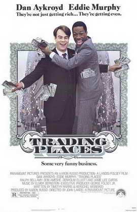 Trading Places - 11 x 17 Movie Poster - Style A