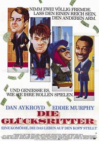 Trading Places - 11 x 17 Movie Poster - German Style A