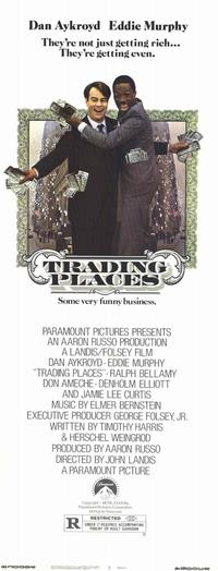 Trading Places - 11 x 17 Movie Poster - Style B
