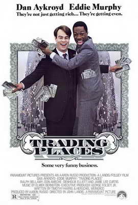 Trading Places - 27 x 40 Movie Poster - Style A