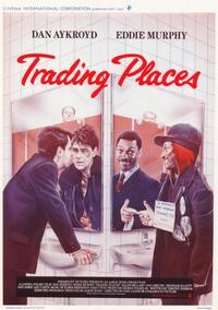Trading Places - 11 x 17 Movie Poster - Belgian Style A