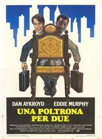 Trading Places - 39 x 55 Movie Poster - Italian Style A