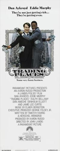 Trading Places - 14 x 36 Movie Poster - Insert Style A