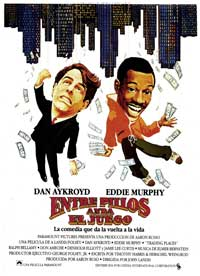 Trading Places - 27 x 40 Movie Poster - Spanish Style A