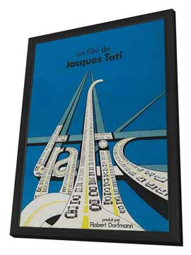 Traffic - 27 x 40 Movie Poster - French Style A - in Deluxe Wood Frame