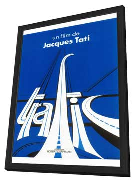 Traffic - 11 x 17 Movie Poster - French Style A - in Deluxe Wood Frame