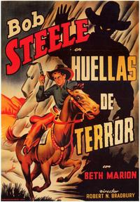 Trail of Terror - 11 x 17 Movie Poster - Spanish Style A