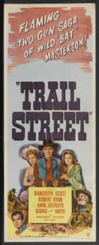 Trail Street - 14 x 36 Movie Poster - Insert Style A