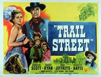 Trail Street - 11 x 14 Movie Poster - Style A