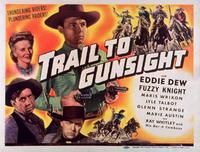Trail to Gunsight - 11 x 14 Movie Poster - Style A