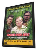 Trailer Park Boys - 27 x 40 TV Poster - Style A - in Deluxe Wood Frame