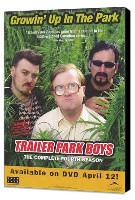 Trailer Park Boys - 27 x 40 TV Poster - Style A - Museum Wrapped Canvas